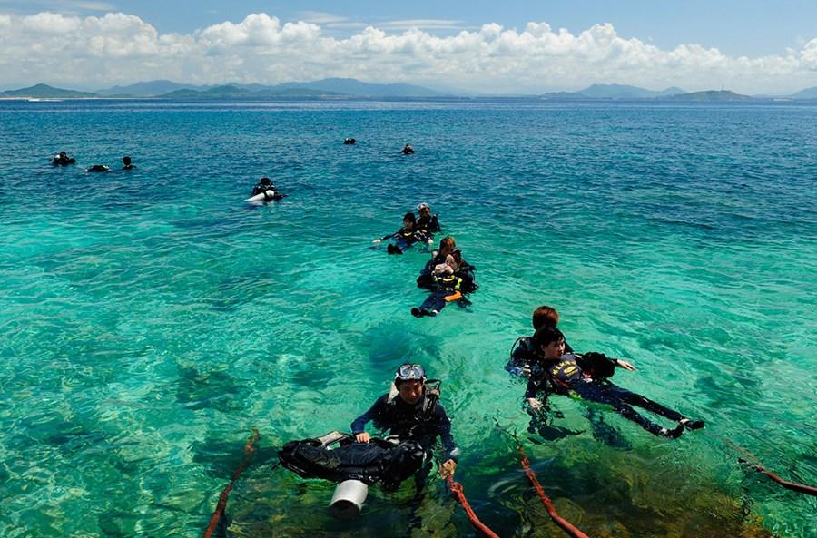 海南| 三亚 蜈支洲岛门票,体验海岛风情
