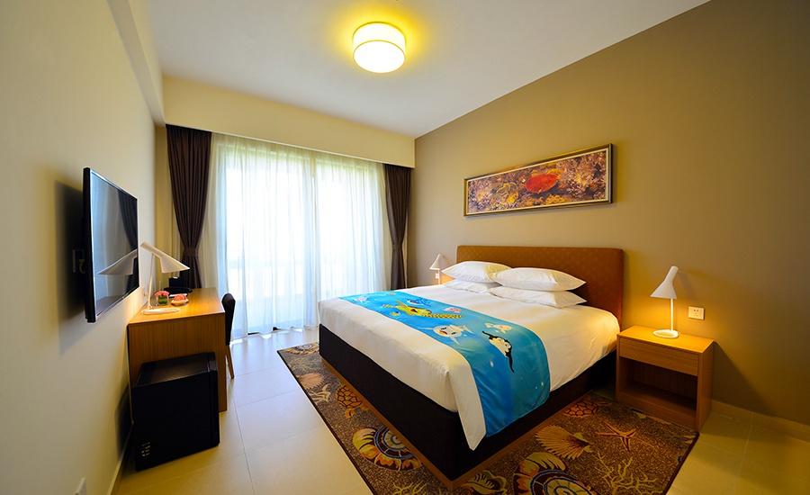 珠海长隆迎海酒店公寓-长隆品牌店  欢乐海洋风格,家庭式温馨客房
