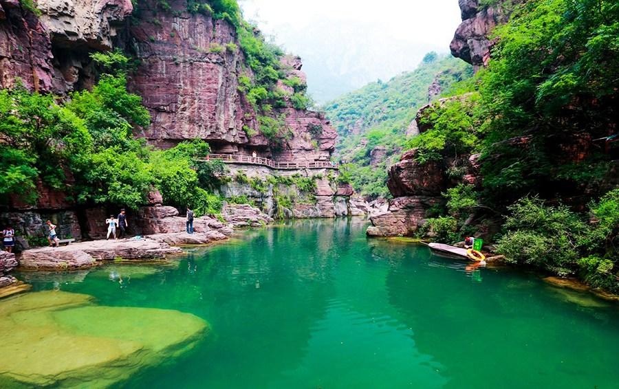 河南| 焦作 云台山风景区,探寻大自然的演变