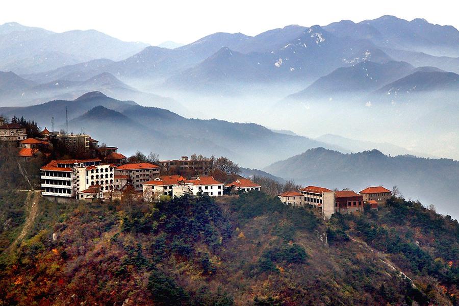 河南| 信阳 鸡公山风景区,登高望远之旅
