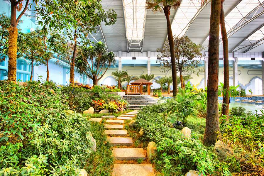 陕西| 咸阳 海泉湾温泉世界度假酒店,养生游