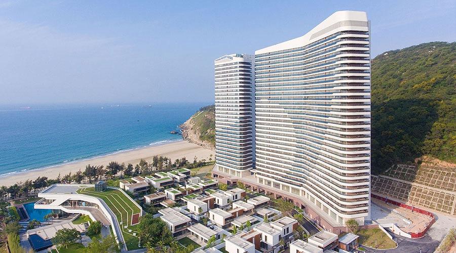 百米高空天际泳池,拥揽海天山色 阳江海陵岛闸坡北洛秘境度假酒店