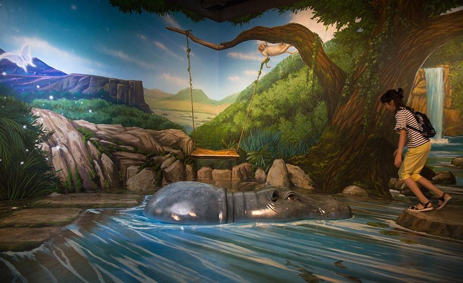 阳江 阳江ar奇幻体验馆      漫游海底世界,穿梭迷幻丛林  馆内10大