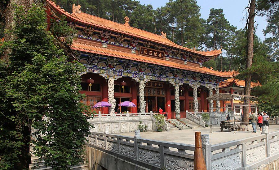 广西  贵港 桂平西山景区,徜徉佛教传统