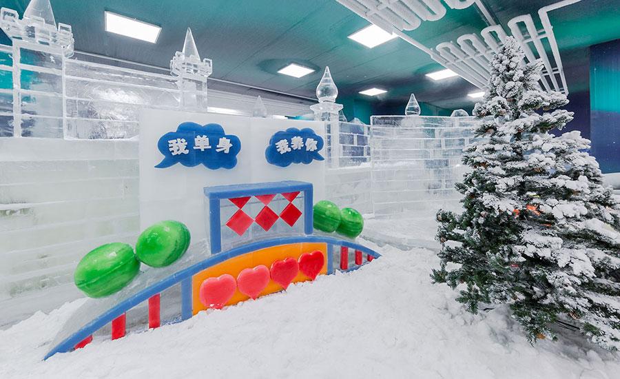 【寒假大促】39.9元起抢雪多多冰雪乐园(佛山店)门票!零下8℃冰雪世界,堆雪人、打雪仗、滑真冰……一次玩个够!